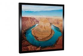Glas-Bildheizung Colorado Schwarz 300 W