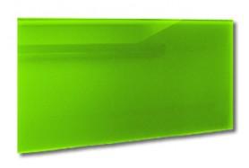 Infrarotheizung Glas Grün