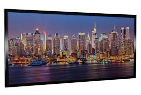Glas-Bildheizung Manhattan-1 Schwarz 600 W