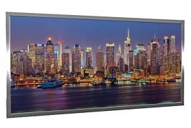 Glas-Bildheizung Manhattan-1 Silber 600 W